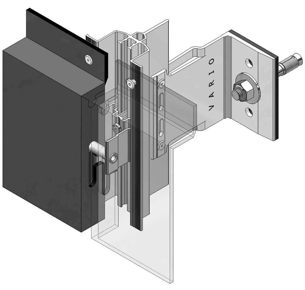 Montáž zavěšené fasádní systém